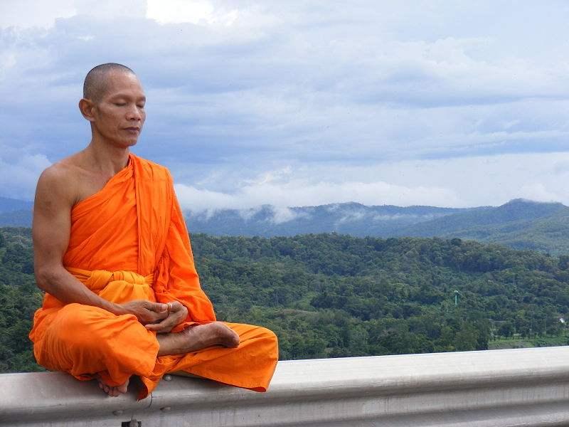 méditer au quotidien - méditation moine
