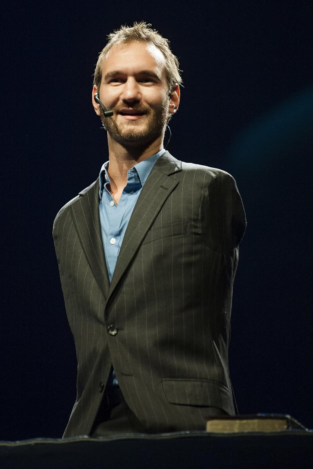 Nick Vujicic conférencier motivvant