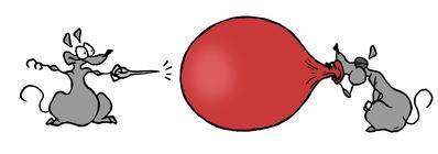 gonfler votre ballon pour être plus heureux et plus positif