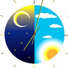 Par habitude, ton horloge biologique se synchronise à l'heure à laquelle tu te couche à et l'heure à laquelle tu te lève