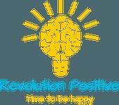 Logo revolution positive - Le site sur le bonheur.