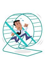 L'être humain est comme un hamster dans une cage. Il tourne en rond. Comment changer son état d'esprit ?