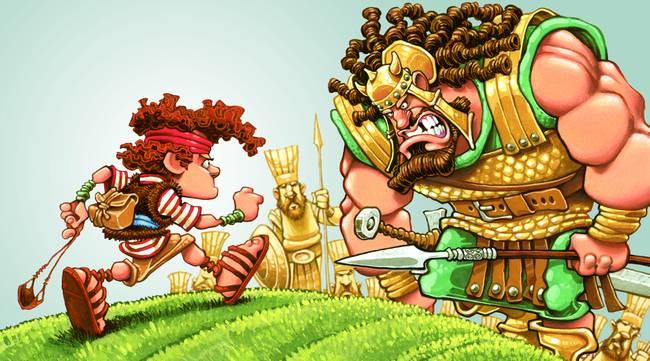 David et Goliath : analogie pour comprendre la notion du bonheur