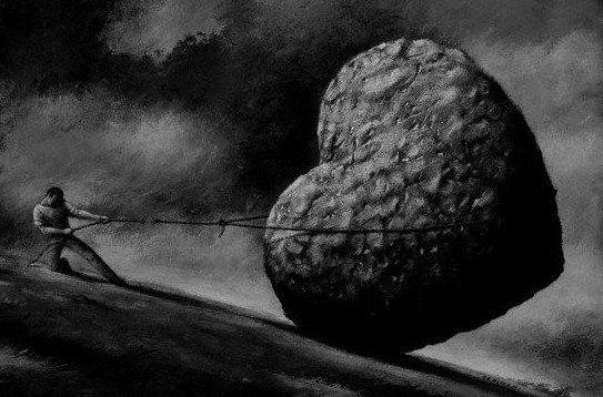 La solitude subie, un poids lourd pour soi