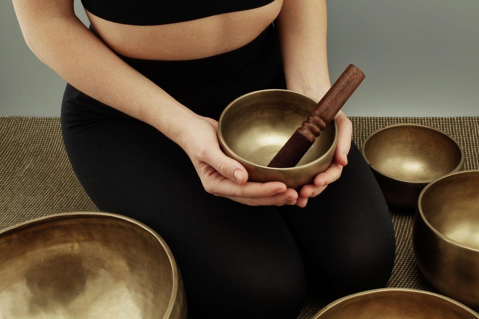 Les différents type de bol tibétain. Il y en a au total 7