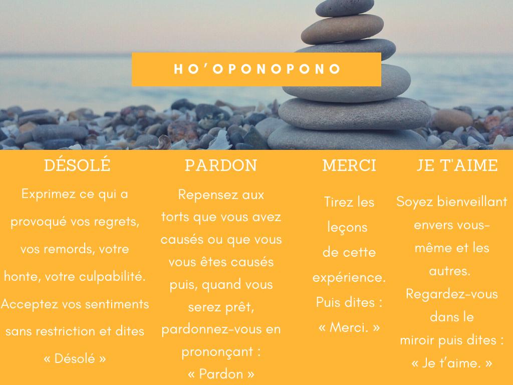 La méthode Ho'oponopono pour évoluer et devenir plus heureux dans sa vie